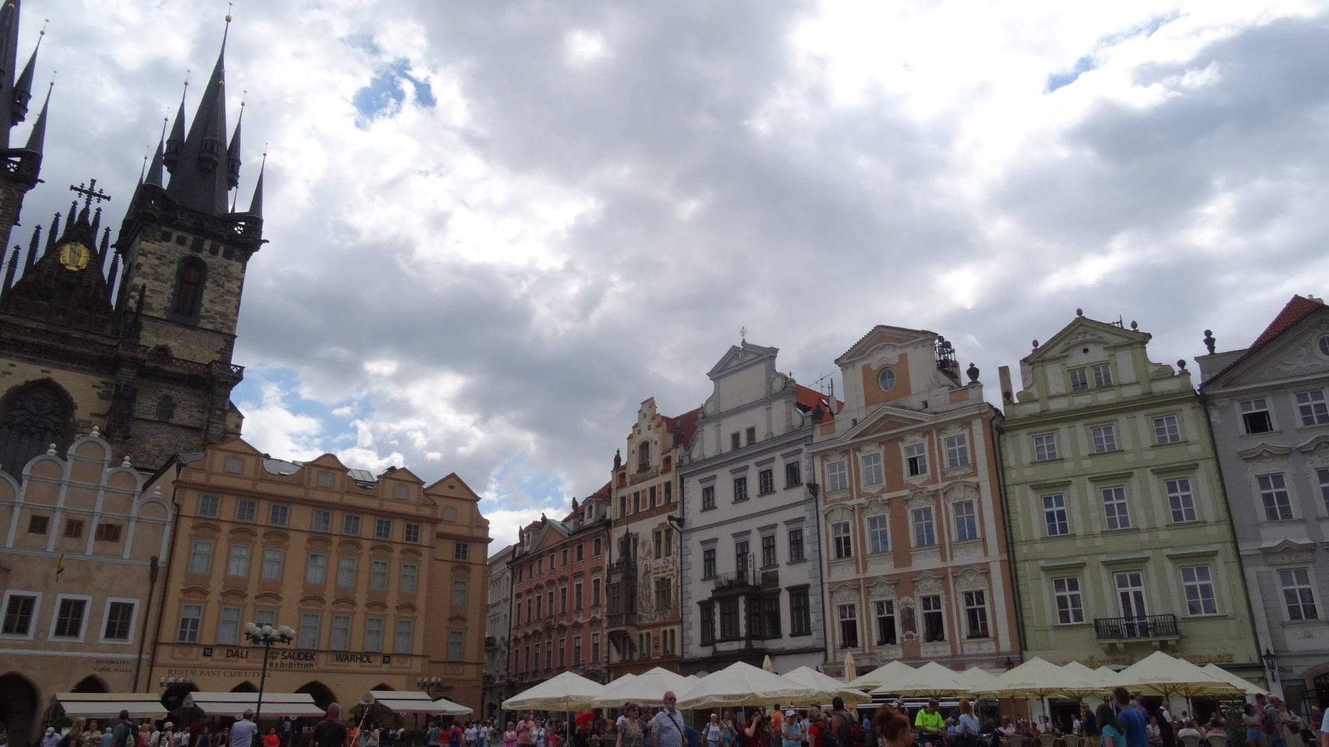 Praag, Grote Markt.