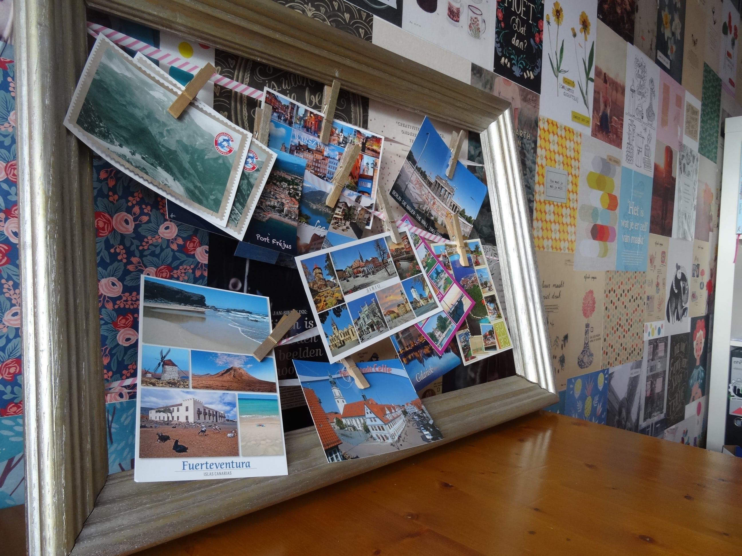 Postkaartjes van allerhande bestemmingen